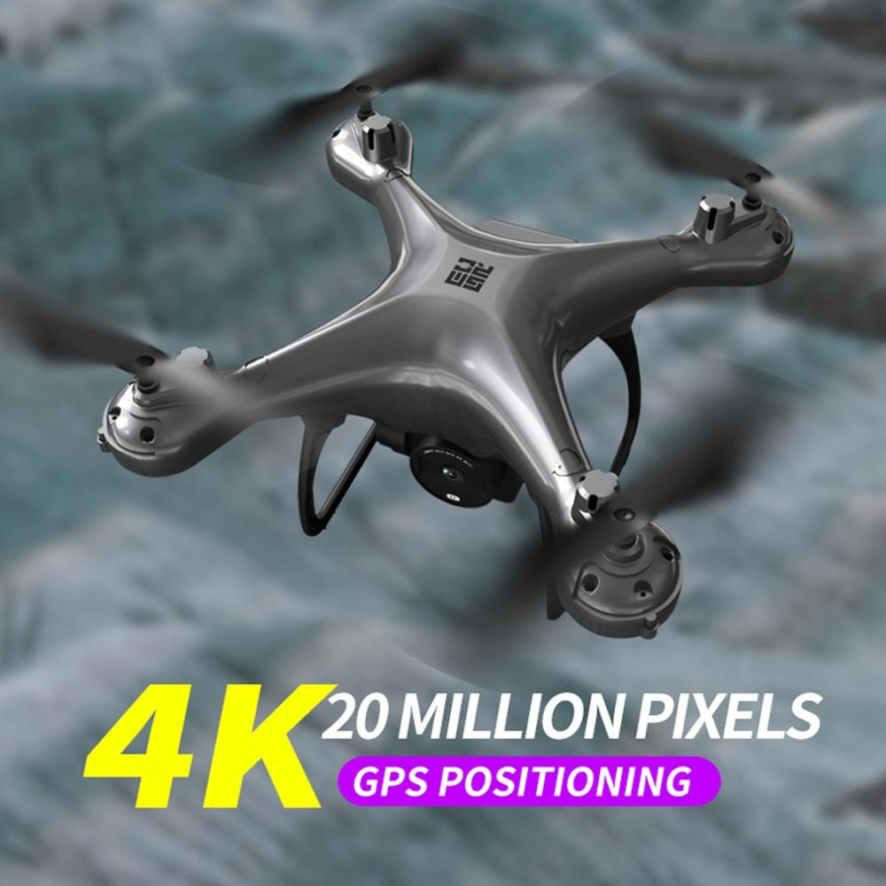 SMRC S30 2.4G Four-axis RC <font><b>Drone</b></font> with 4K Camera <font><b>GPS</b></font> fixed-point positioning RC Helicopter Toys for Kids Gift image