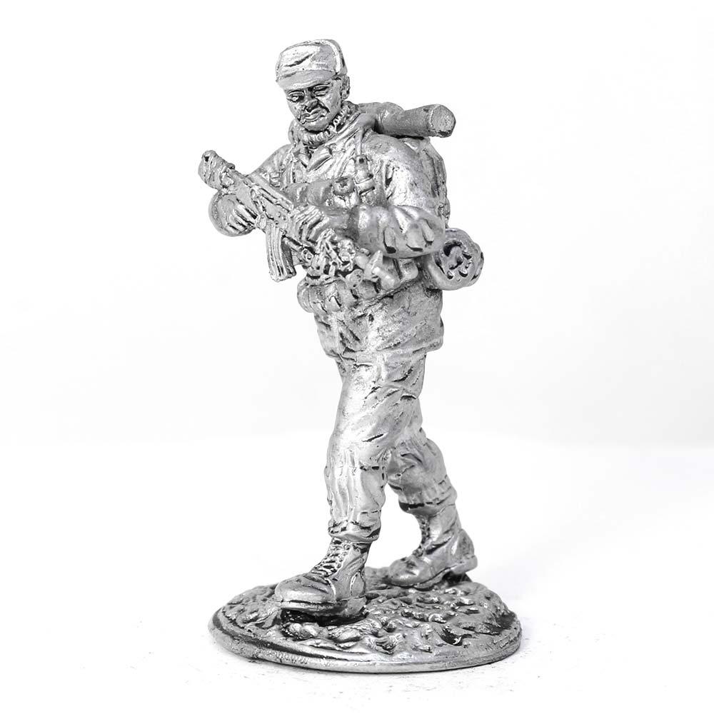 Russian fighter разведгруппы Chechnya 1994 96 YY tin soldier figure 54mm u575 tin toy soldiers tin soldiers soldiers metal soldiers military soldiers Knight