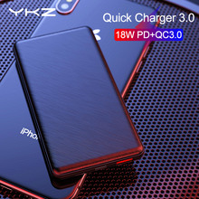 Power Bank 10000mAh YKZ Poverbank QC 3.0 2.0 Type-C PD Fast