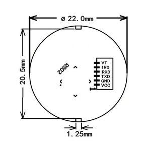 Image 5 - K202 + R502 DC12V منخفضة استهلاك الطاقة بصمة لوحة تحكم + R502 وحدة بصمة اليد