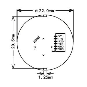Image 5 - K202 + R502 DC12V carte de contrôle par empreinte digitale