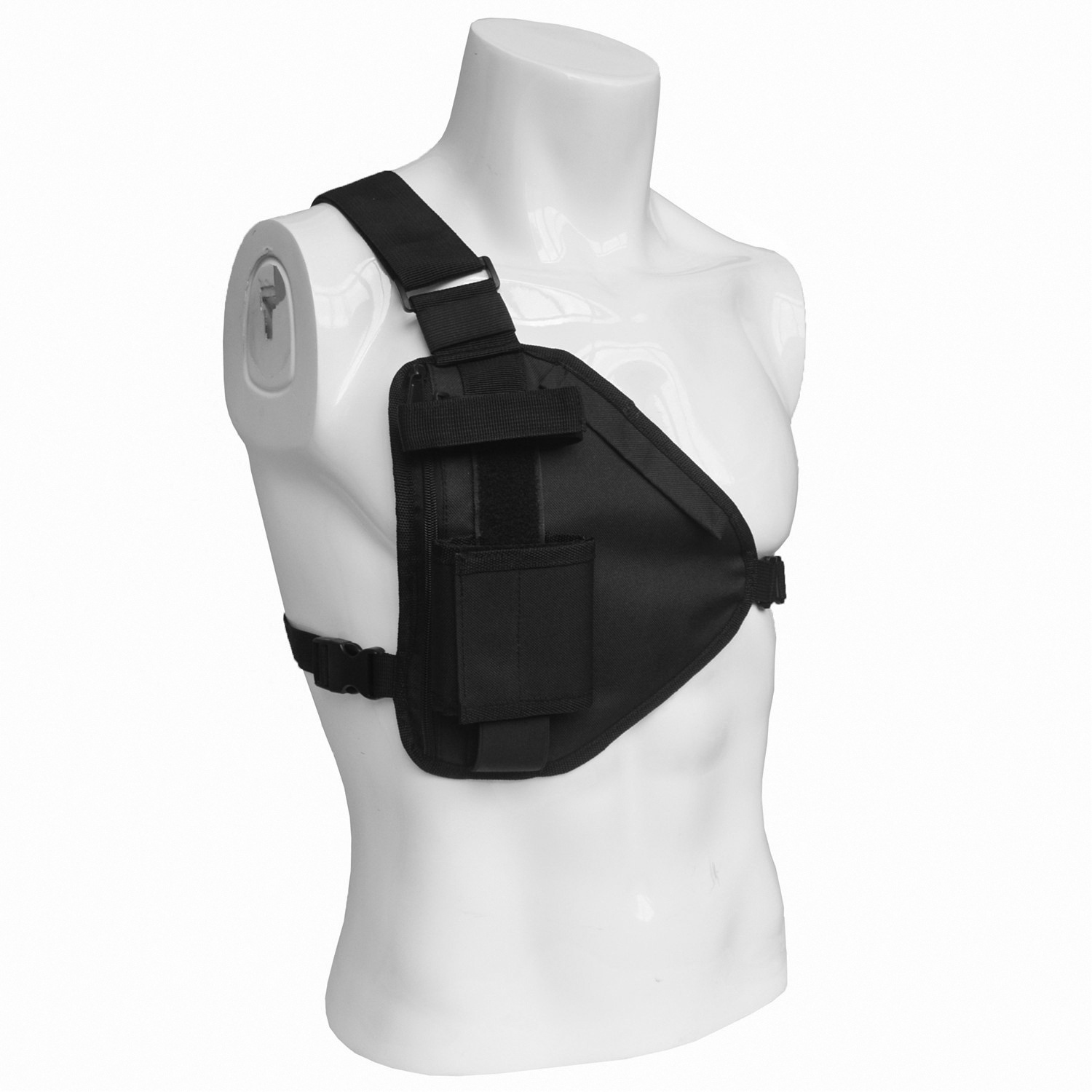The New Chest Rig Streetwear Functional Harness Chest Bag Cross Shoulder Bag Adjustable Tactical Anti-theft Bags Waist Packs
