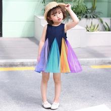 Get more info on the kids dresses for girls Rainbow Fairy Tutu Dress Toddler Baby Girls Sleeveless Dress Tulle Dresses Clothes 9.25