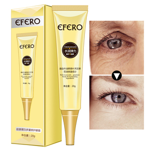 Image 5 - Crema de ojos antienvejecimiento con péptido de colágeno, antiarrugas, elimina las ojeras, esencia de caracol, hidrata la Reparación de la piel seca, líneas finas de ojos