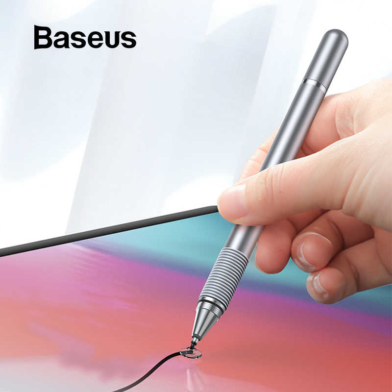 Baseus universel stylet stylo multifonction écran tactile stylo capacitif tactile pour iPad iPhone Samsung Xiaomi Huawei tablette stylo