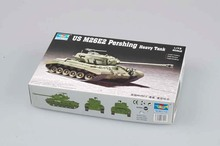 цена на Trumpeter 1/72 07299 US M26E2 Pershing Heavy Tank Military Display Toy Plastic Assembly Building Model Kit