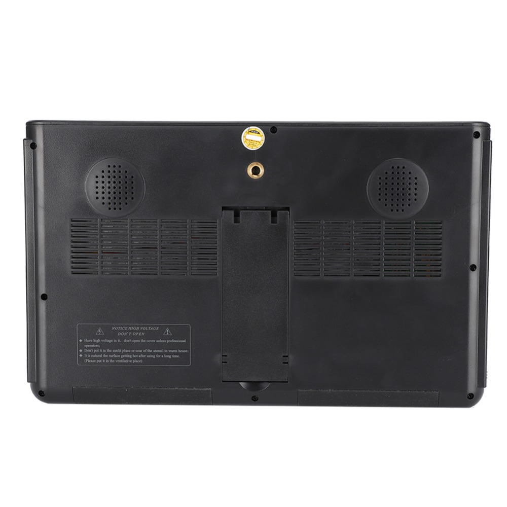 10 inch DVB-T-T2 16:9 Portable TFT-LED HD Digital Analog Color TV Television Player 13