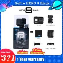 GoPro – Caméra d'action HERO 8 Black, vidéo 4K Ultra HD/1080p, étanche, avec diffusion en direct, pour le sport, produit original