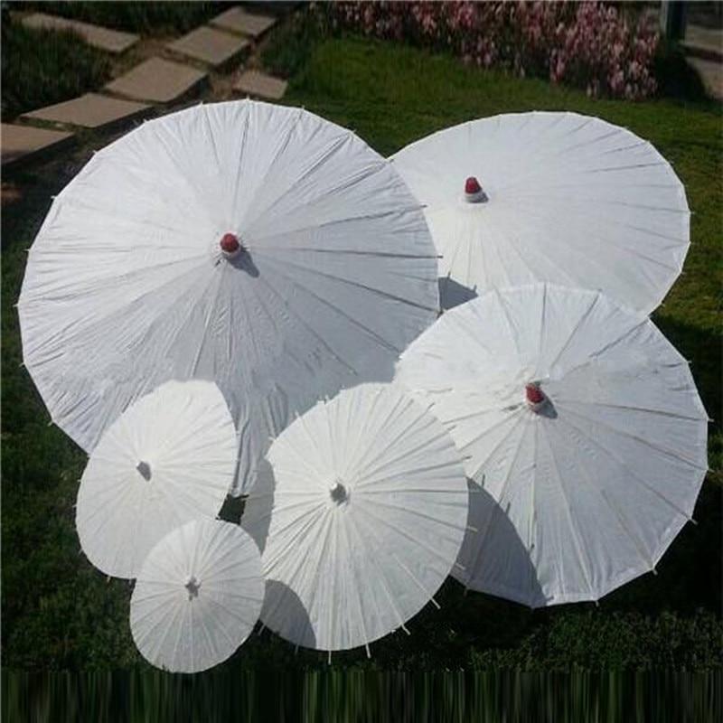 Wedding Decor Flower Girl Parasol Paper Umbrella Sun Umbrella Beach Wedding Silk umbrella,Wedding Ceremony