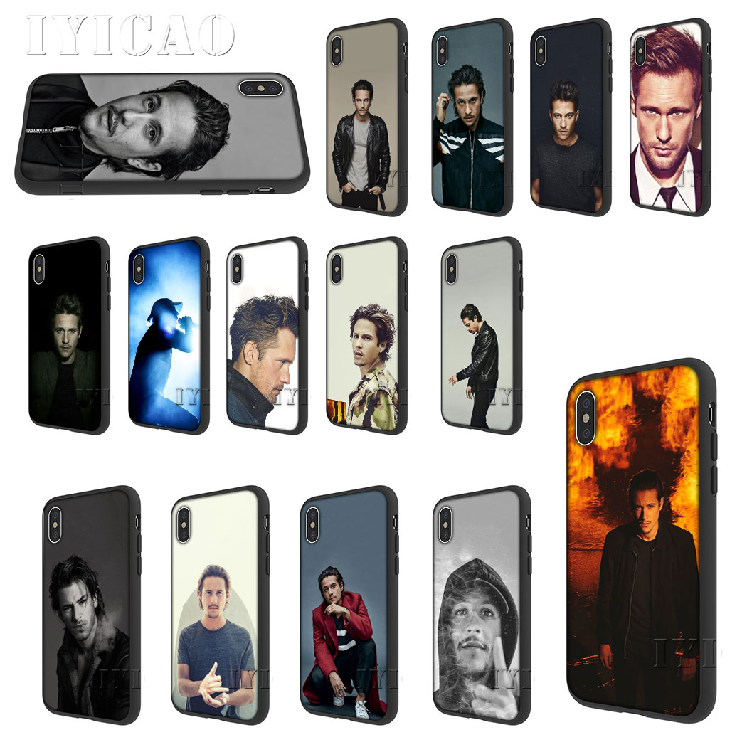 IYICAO Nekfeu Singer silicone souple pour iPhone 5 5s SE 10 X XS XR XS Max