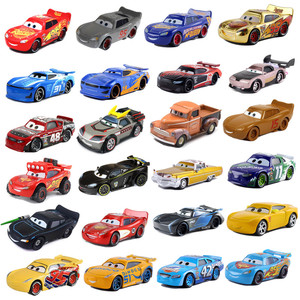 New Disney Pixar 2 3 Toy Car McQueen Jackson Storm 1:55 Cast Metal Alloy Toy Car Model Children's Birthday Christmas Gift