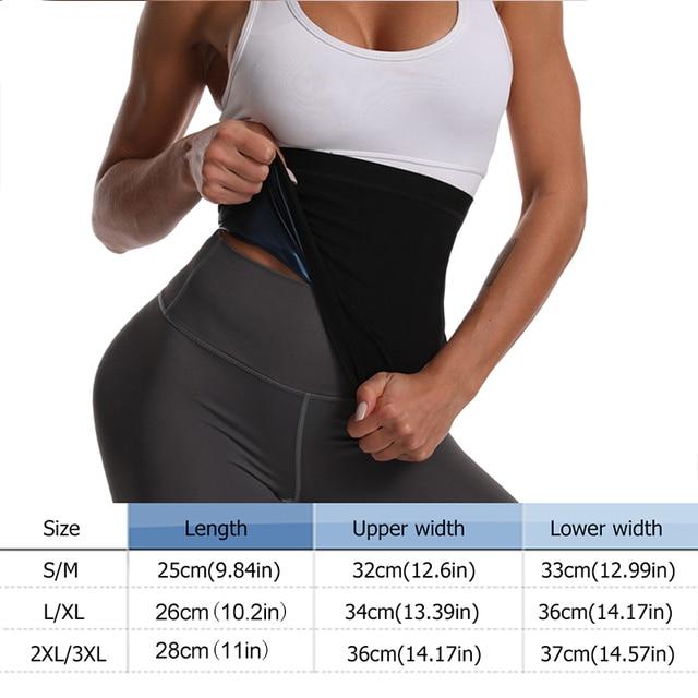 Newest Waist Trainer Neoprene Sauna Fat Burner Slimming Belt Corset Sweat Belt Women Weight Loss Waist Trimmer Workout Fitness 4