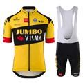 Lotto jumbo visma pro велосипедная команда бутиковая летняя футболка с коротким рукавом для велоспорта