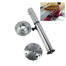HWHongRV RV Telescopic Table Legs Adjustable Height Table Mount for Motor Homes Table Bracket Stowable Table Stand