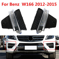 For Benz W166 2012 2013 2014 2015 Left & Right Side LED Daytime Running Light DRL Driving Fog Lamp Assemby 1668852822 1668852922