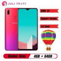vivo U1 6.2inch Screen 4G RAM 64G ROM Snapdragon439 Octa Core 4030mAh Big Battery Face ID and Fingerprint Dual Camera Smartphone