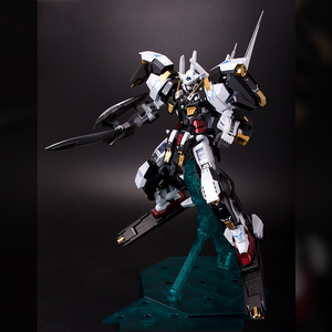 Image 3 - BANDAI MG 1/100 PB 00 GN 001/hs A01 Avalanche Exia GUNDAM Black and White Snow Color Action Figures Christmas Gift Toys