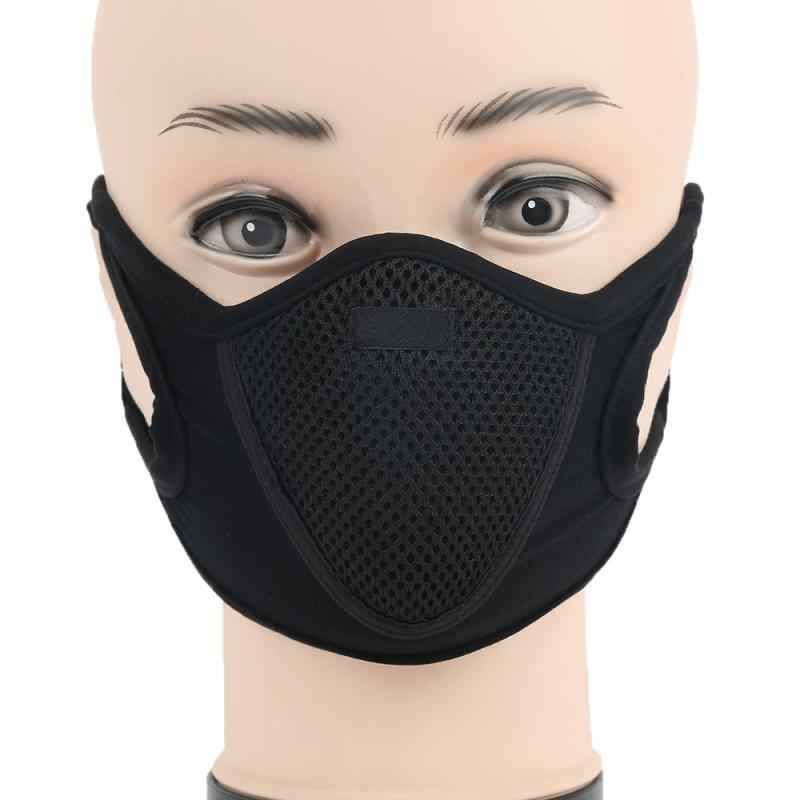 Multipurpose Half Face Mask Professional Dustproof Anti-Haze Half Face Ear Loop Mask Outdoor Bicycle Hiking Protective Equipment