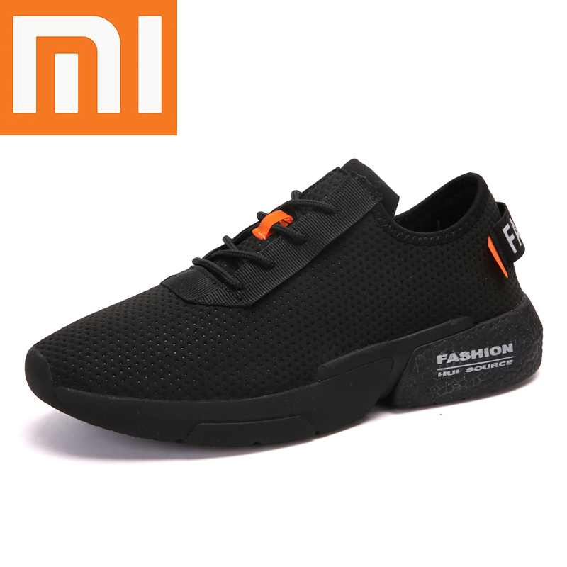 Xiaomi Hot Sale Running Shoes Comfortable Breathable Anti-skidding Man Sneakers Casual Fashion Height Increasing Men Sport Shoes