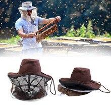 Антимоскитная рыболовная шляпа с сеткой, крышка на голову, Рыбацкая шляпа, пчеловодство, маска для кемпинга, защита лица, шапки#2