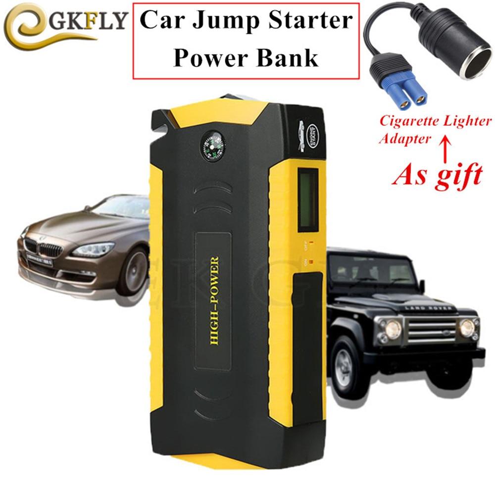 автомобиль скачок стартер - Emergency Car Jump Starter Power Bank 12V 600A Portable Starting Device Booster High Power Car Starter For Car Battery Charger
