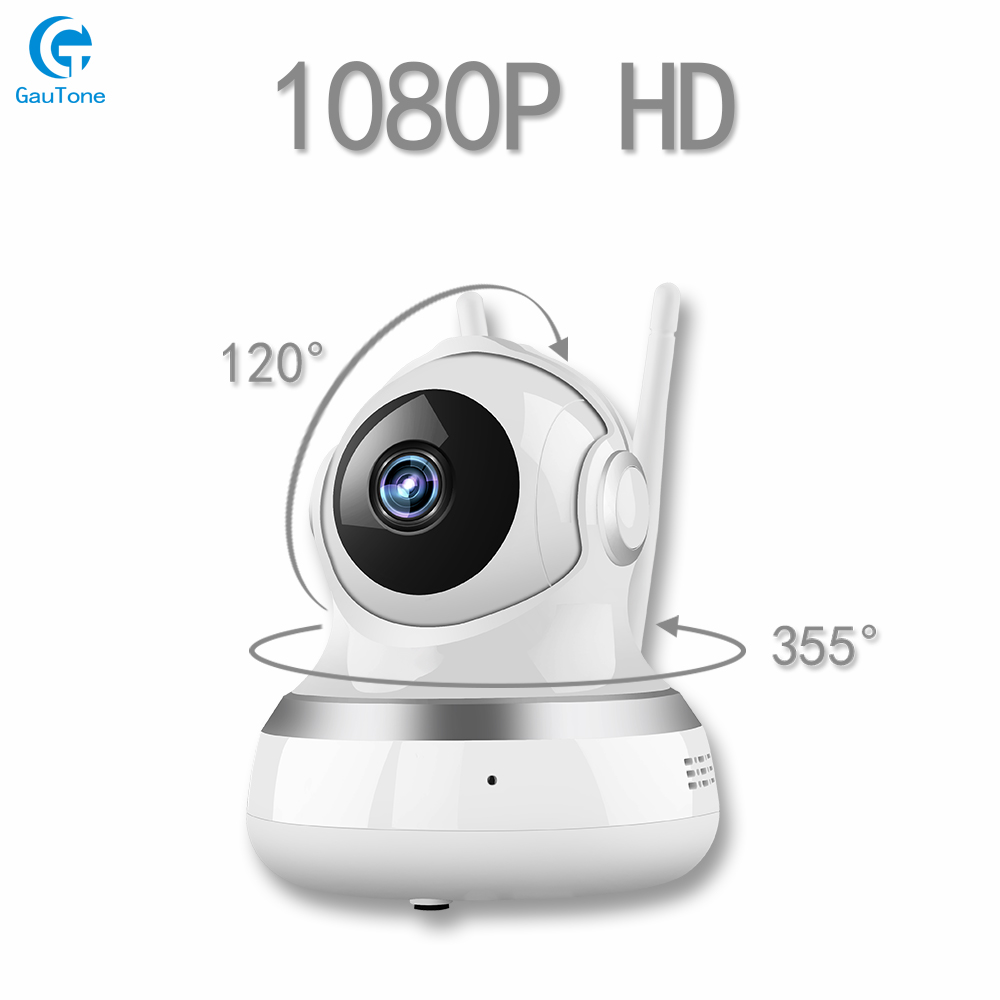 Free Shipping 1080P HD Indoor WIFI IP Camera Wireless WIFI Security Dummy Camera 64G TF Card Storage Pan 360-degree Surveillance