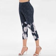 Women's Sporting Plus Size Capri Leggings Pants 3/4 Pants Leggings High Waist Leggings Hot Autumn Gym Sporting Fitness Pants