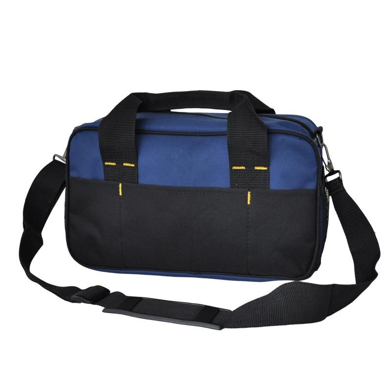 1 Pcs Tool Kit Pack Hardware Repair Kit Tool Bag Electrician Work Multifunction Durable Mechanics Oxford Cloth Bag Organizer Bag