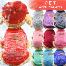 XS-XXL спортивный с капюшоном Одежда для собак свитера для собак 1 шт. товары для домашних животных, щенок, собака, пальто Новогодняя одежда зимняя теплая