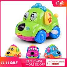 Горячая Распродажа Детские заводные забавные заводные игрушки мультяшный щенок язык Заводной автомобиль Развивающие игрушки для детей# NXT