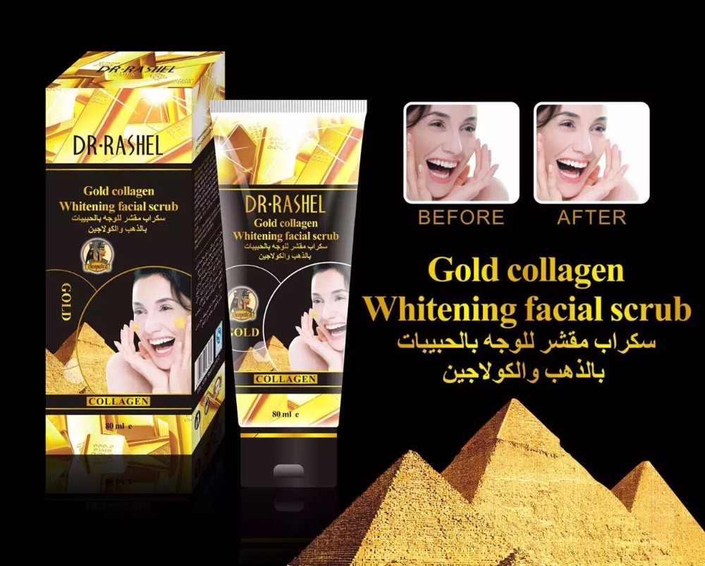Peeling Exfoliërende Scrub Dode Huid Facial Gel Peeling Polish Gezicht Crème Verzachten Geil Gezicht Reiniging Gold Dr. Rashel