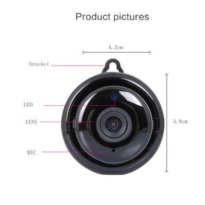 Image 2 - Cámara inalámbrica PTZ Wi Fi Micro Video CCTV vigilancia de seguridad con Wifi Mini cámara IP Nanny Cam Camara para el Sensor de movimiento del teléfono