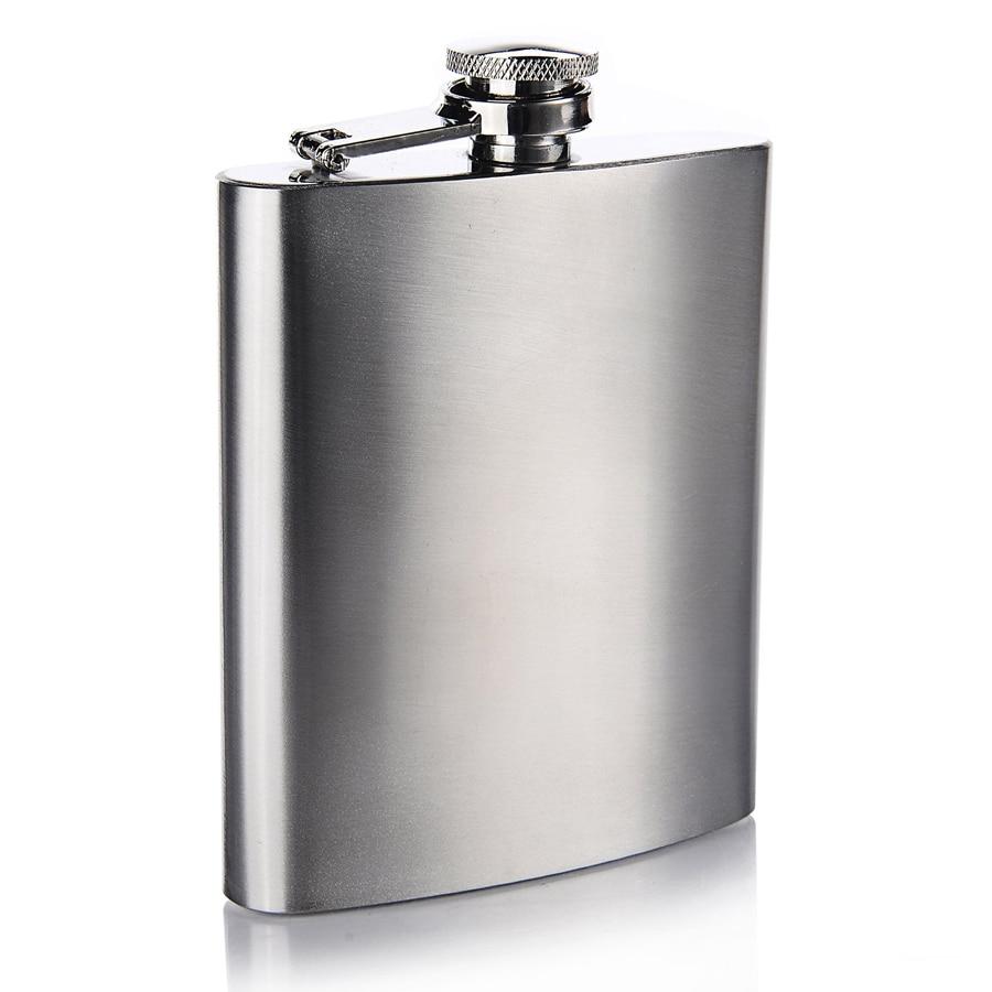 Mini Stainless Steel Hip Flask Alcohol Flagon Liquor Bottle Whisky Pot 9oz