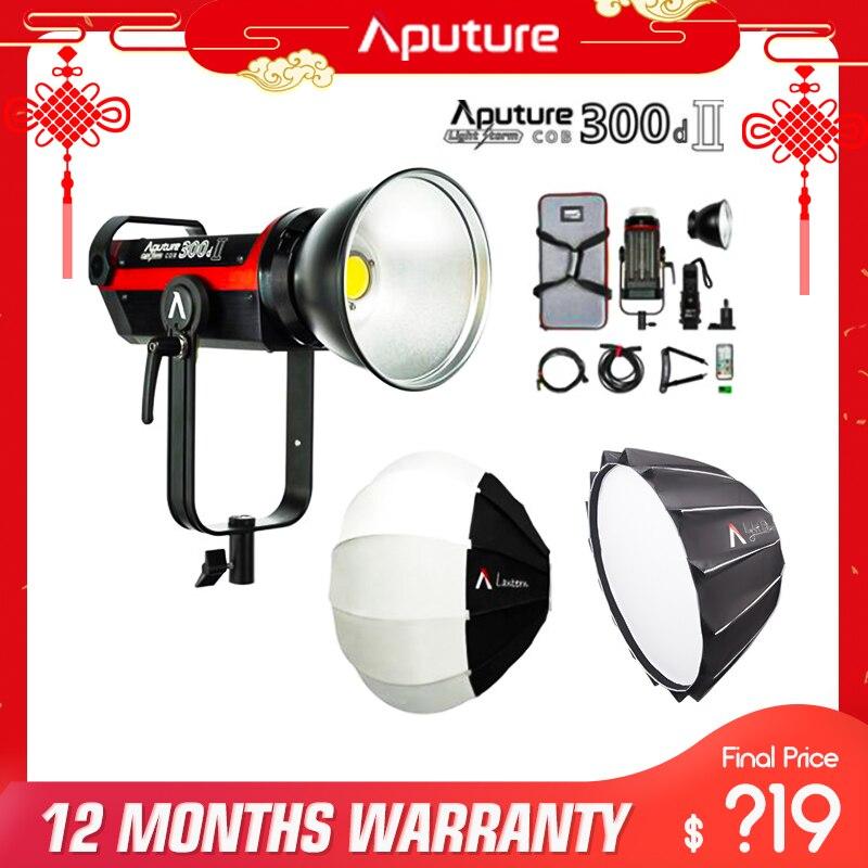 Aputure 300d ii luz dome ii estúdio refletor softbox bowens montagem para aputure 120 t 120d ii 300d 300d ii conduziu a luz de vídeo