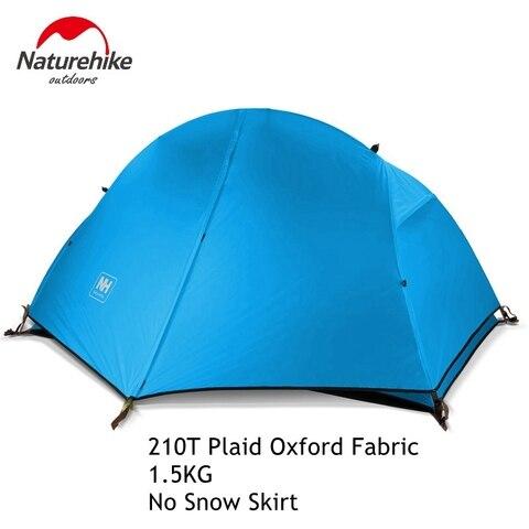 naturehike 1 2 pessoa dupla camada ultraleve tenda piquenique ao ar livre 3 estacoes barraca