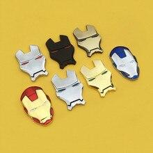 Hero Avengers Badge 3D Metal Car Sticker for decorative Styling  Applique external car body accessories