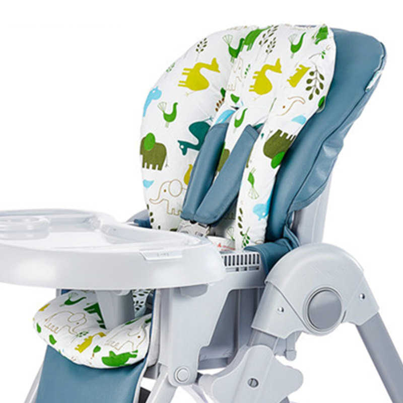 New Baby Kids Highchair Cushion Pad Mat Booster Seats Cushion Pad Mat Feeding Chair Cushion Pad Stroller Cushion Mat 100% cotton