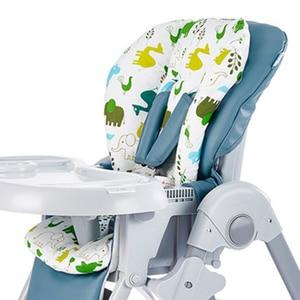 New Baby Kids Highchair Cushion Pad Mat Booster Seats Cushion Pad Mat Feeding Chair Cushion Pad Stroller Cushion Mat 100% cotton(China)
