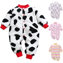 2019 Infant Romper Baby Boys Girls Jumpsuit New Born Clothing Toddler Baby Clothes Cute Print Playsuits Baby Costumes 6-18M new arrival jumpsuit elephant monkey lion owl elf pink horses penguins leotard romper infant costumes baby costumes baby onesie