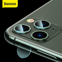 Baseus Back Camera Lens Protector For iPhone 12 11 Pro Max Tempered Glass Lens Glass For iPhone X XS Lens Protection Film Full