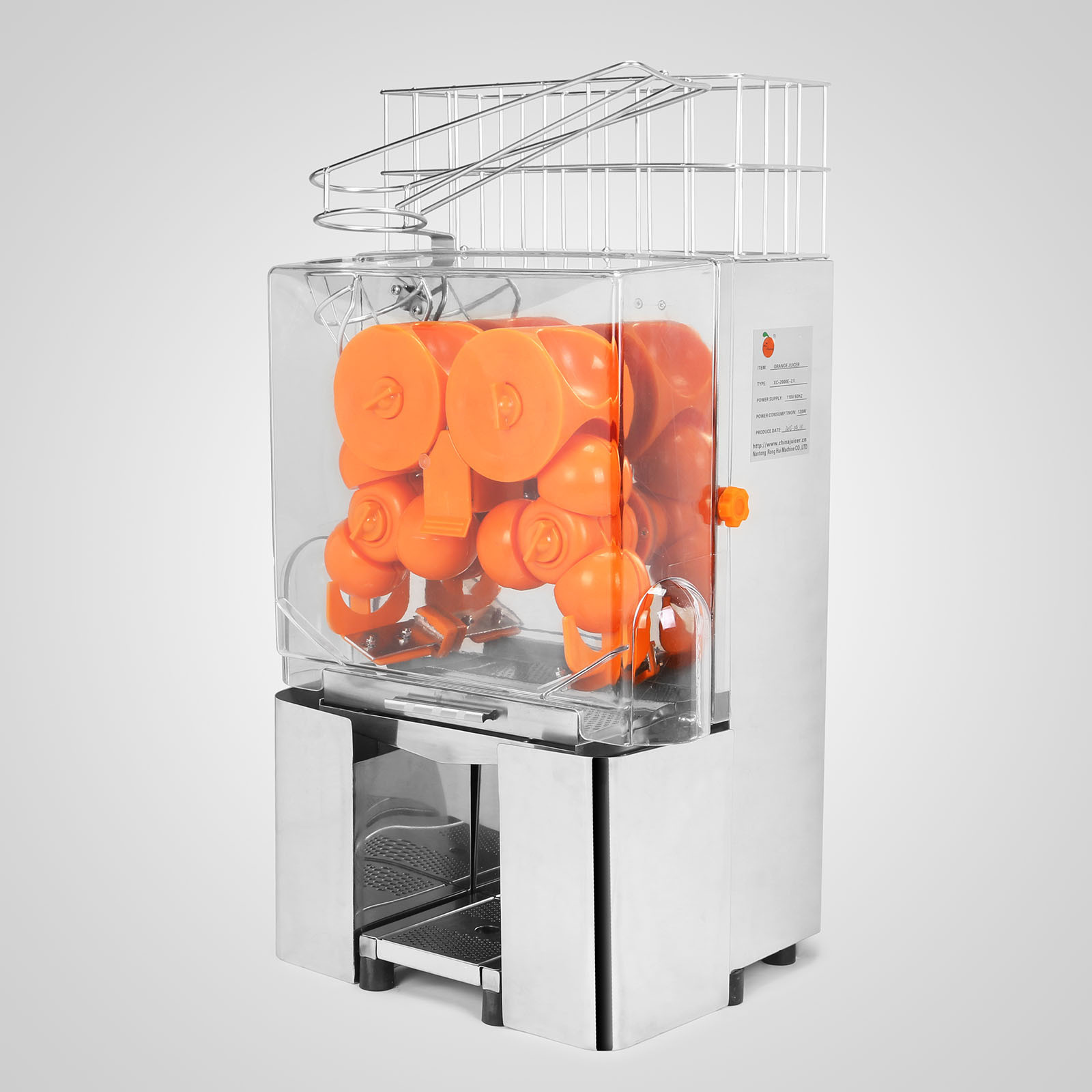Автоматическая соковыжималка для апельсинов из нержавеющей стали 4