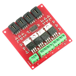 4-канальная 4-канальная Кнопка MOSFET IRF540 V2.0 + модуль коммутатора MOSFET Arduino