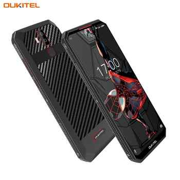 "OUKITEL K13Pro K13 Pro Android 9.0 Smartphone 6.41"" 4G LTE Mobile Phone 4GB 64G ROM MT6762 11000mAh 5V/6A Quick Charge Cellphone"