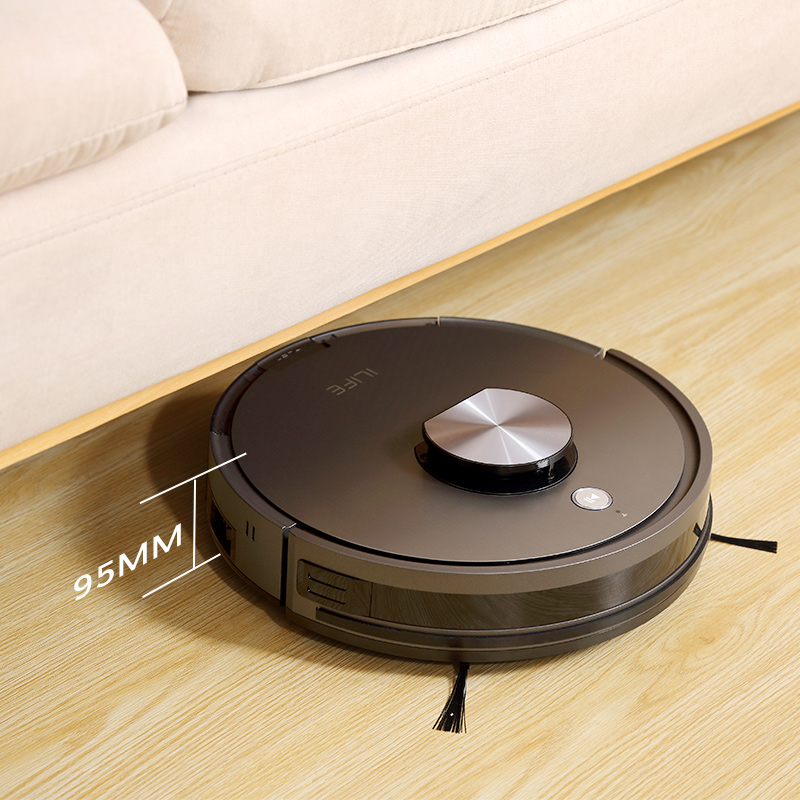 ILIFE A10s Robot Vacuum Cleane,LDS laser navigation, Smart Planned WIFI App Remote Control,Draw Cleaning Area On Map 3