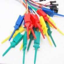 Voor Logic Analyser Test Clips 10 Stuks Vrouwelijke Kabel Dupont Nieuwe Gemakkelijk Gebruik Set Haak Algemene Purpose Duurzaam