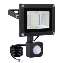 20W LED Floodlight Garden Spotlight PIR Motion Sensor Adjustable Floodlight IP65 Waterproof Outdoor Wall Lamp Night Light 1600LM