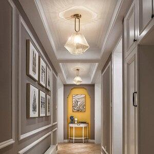 Image 2 - הגעה חדשה LED תליון אורות מנורת מודרני בית תאורה מקורה מתקן זהב אור AC110 220V קפה חדר תליית מנורת בר אור
