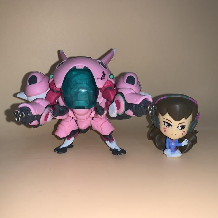 13cm Overwatch Dva D.Va Action Figure Toys Game Doll Gift 4