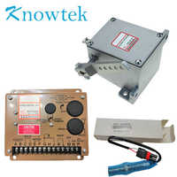 1 set Generator Actuator ADC225 12V /24V with Governor ESD5500E with Pickup Sensor 3034572For Diesel Generator