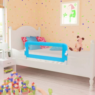 Toddler Safety Bed Rail 102 X 42 Cm Blue  Child Room Bed Railing Child Bed Bed Railing Bed Railing